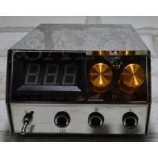 Блок питания с электронным табло для двух тату машинок PS0289