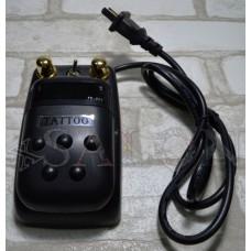 2 в 1 педаль блок питания  для тату машинки пластиковый с электронным табло PS0295