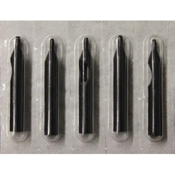 Наконечники пластиковые в стерильной упаковке чёрные