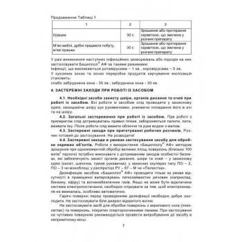 Бациллол АФ для инструментов, Боде (Bacillol AF, Bode)