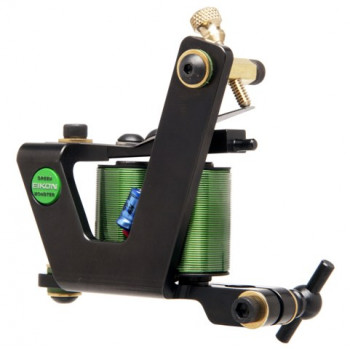 Green Monster Shader Eikon Tattoo Machine