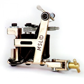 Brass Hybrid 007B Micky Sharpz Tattoo Machine