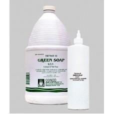 Антисептик Зелёное мыло Green Soap используется для копирования рисунка на кожу