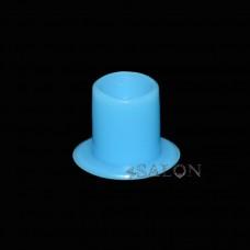 Колпачки (капсы) под краску голубые 0,25 мл CAPS0455