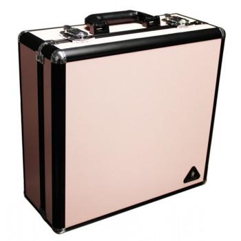Кейс розовый с двумя осветителями
