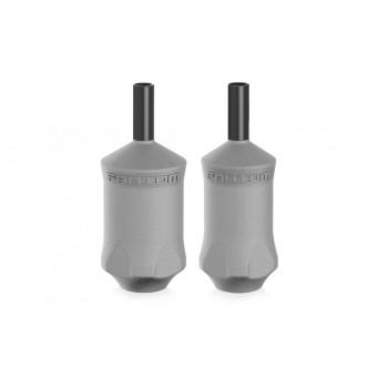 """Ручка одноразовая 1"""" для картриджей Bishop Fantom V2 Disposable Tubes Cartridge Grips Grey"""