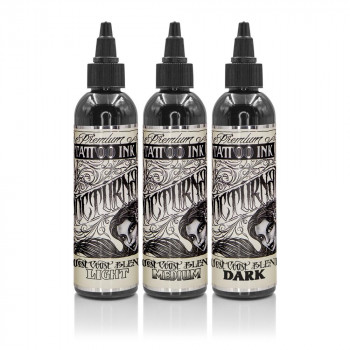 Nocturnal Tattoo Ink West Coast Blend Set