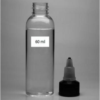 Флакон 60 ml ПЭТ (PET) с крышкой-клапаном