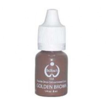 Golden Brown Biotouch Pigment Double Concentrated Permanent Make-Up Pigments