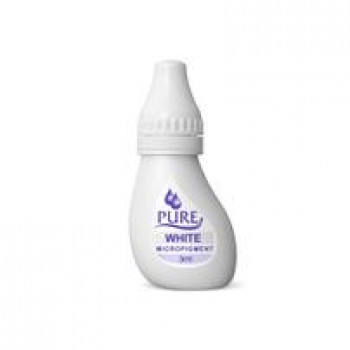 White Biotouch Pure Permanent Make-Up Pigments 3 ml