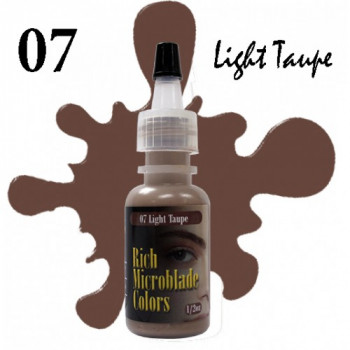 Rich Microblade Colors - 07 Light Taupe 1/2 Oz (15 мл)
