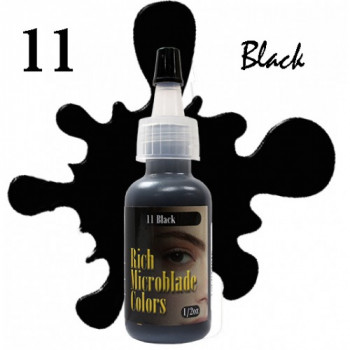 Rich Microblade Colors - 11 Black 1/2 Oz (15 мл)