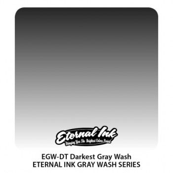 Darkest Gray Wash Eternal Tattoo Ink 20 января 2020 - 30 мл
