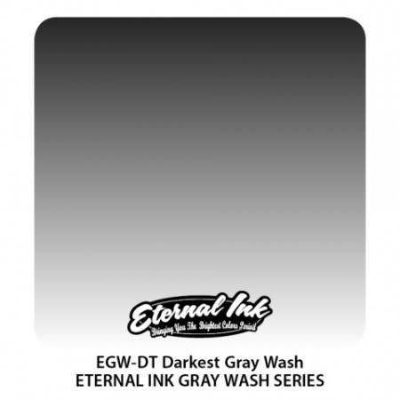 Darkest Gray Wash Eternal Tattoo Ink 20 января 2020 - 30 мл