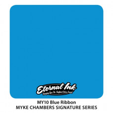 Blue Ribbon Eternal Tattoo Ink Myke Chambers