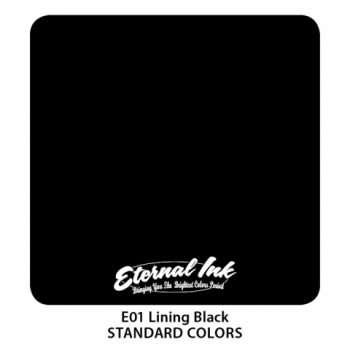 Lining Black Eternal Tattoo Ink 26 января 2020 - 240 мл