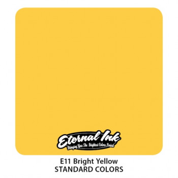 Bright Yellow Eternal Tattoo Ink