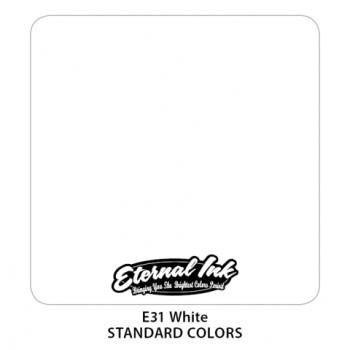 White Eternal Tattoo Ink