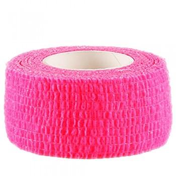 Бинт эластичный самоклеющийся (обмотка) розовый 2.5 см х 4.5 м