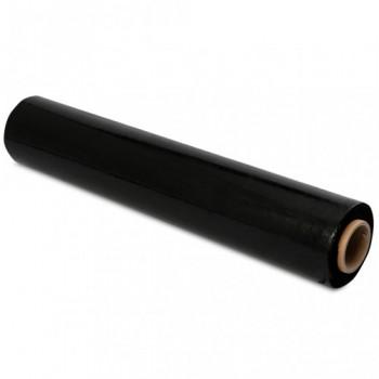Стрейч плёнка чёрная большая 50см*230м плотность 20мк