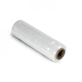 Стрейч плёнка прозрачная средняя 25см*150м плотность 17мк