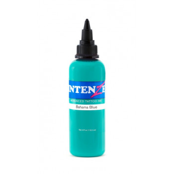 Bahama Blue Intenze Tattoo Ink
