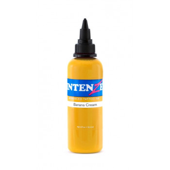 Banana Cream Intenze Tattoo Ink